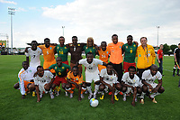 FOOTBALL - PUMA AFRICAN UNITY EXPERIENCE - 28/05/2010 - CAMEROON / IVORY COST AND GHANA TEAMS<br /> PHOTO : FRANCK FAUGERE / DPPI
