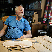 Alan Beavitt, a violin maker living in the remote township of Scoraig. The council was on the hunt for a school teacher who could cope with the lack electricity, shops and a road in and out of the area - feature for the Scottish Daily Mail