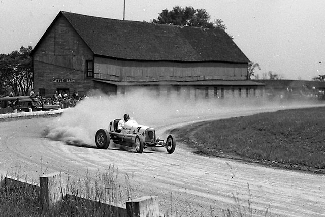 Number 7 shows how it was done in 1938 at Altamont.