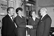 17/04/1961<br /> 04/17/1961<br /> 17 April 1961<br /> A.E.I. Gala Ltd. press reception at the Gresham Hotel Dublin. Air Lingus Hostess's at the event.