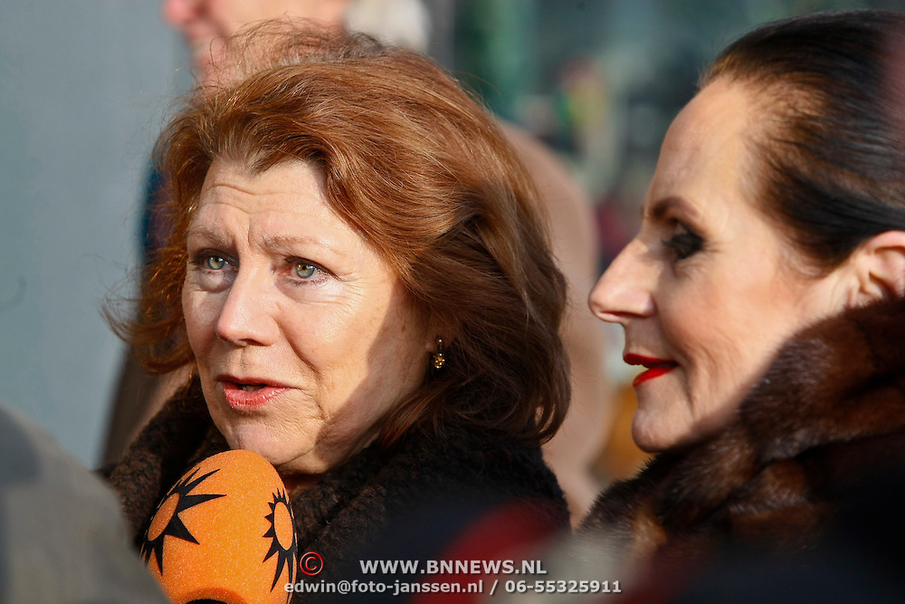 NLD/Amsterdam/20100122 - Uitvaart Edgar Vos, Bruni Heinke en Ans Markus
