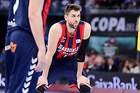 Baskonia's Andrea Bargnani during Quarter Finals match of 2017 King's Cup at Fernando Buesa Arena in Vitoria, Spain. February 16, 2017. (ALTERPHOTOS/BorjaB.Hojas)