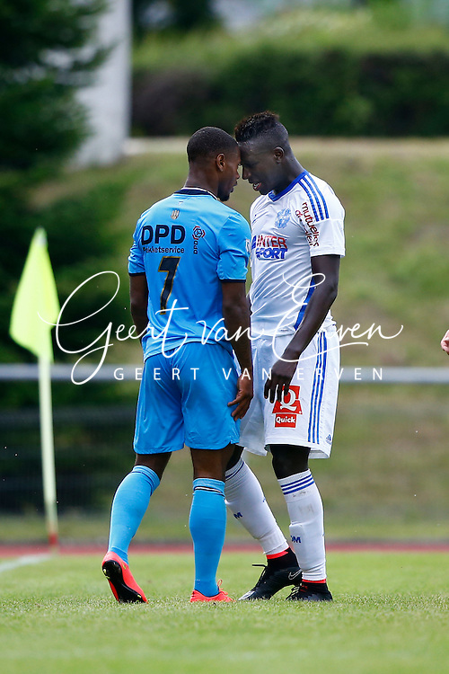 Onderwerp/Subject: Olympique Marseille - Willem II - Friendly<br /> Reklame:  <br /> Club/Team/Country: <br /> Seizoen/Season: 2014/2015<br /> FOTO/PHOTO: Benjamin MENDY (R) of Olympique Marseille clashes with Terell ONDAAN (L) of Willem II. (Photo by PICS UNITED)<br /> <br /> Trefwoorden/Keywords: <br /> #03 #05 $94 &plusmn;1405930080633<br /> Photo- &amp; Copyrights &copy; PICS UNITED <br /> P.O. Box 7164 - 5605 BE  EINDHOVEN (THE NETHERLANDS) <br /> Phone +31 (0)40 296 28 00 <br /> Fax +31 (0) 40 248 47 43 <br /> http://www.pics-united.com <br /> e-mail : sales@pics-united.com (If you would like to raise any issues regarding any aspects of products / service of PICS UNITED) or <br /> e-mail : sales@pics-united.com   <br /> <br /> ATTENTIE: <br /> Publicatie ook bij aanbieding door derden is slechts toegestaan na verkregen toestemming van Pics United. <br /> VOLLEDIGE NAAMSVERMELDING IS VERPLICHT! (&copy; PICS UNITED/Naam Fotograaf, zie veld 4 van de bestandsinfo 'credits') <br /> ATTENTION:  <br /> &copy; Pics United. Reproduction/publication of this photo by any parties is only permitted after authorisation is sought and obtained from  PICS UNITED- THE NETHERLANDS