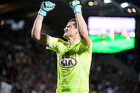 Joie Bordeaux - Cedric CARRASSO - 12.04.2015 - Bordeaux / Marseille - 32eme journee de Ligue 1 <br /> Photo : Caroline Blumberg / Icon Sport