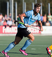 WASSENAAR - Nicholas Budgeon (HGC)  tijdens  de hoofdklasse hockeywedstrijd HGC-Den Bosch (3-2). COPYRIGHT KOEN SUYK