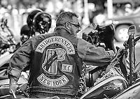 Member of the Bridgerunners Motorcycle Club