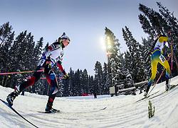March 8, 2019 - –Stersund, Sweden - 190308 Marketa Davidova of Czech Republic competes in the Women's 7.5 KM sprint during the IBU World Championships Biathlon on March 8, 2019 in Östersund..Photo: Petter Arvidson / BILDBYRÃ…N / kod PA / 92247 (Credit Image: © Petter Arvidson/Bildbyran via ZUMA Press)