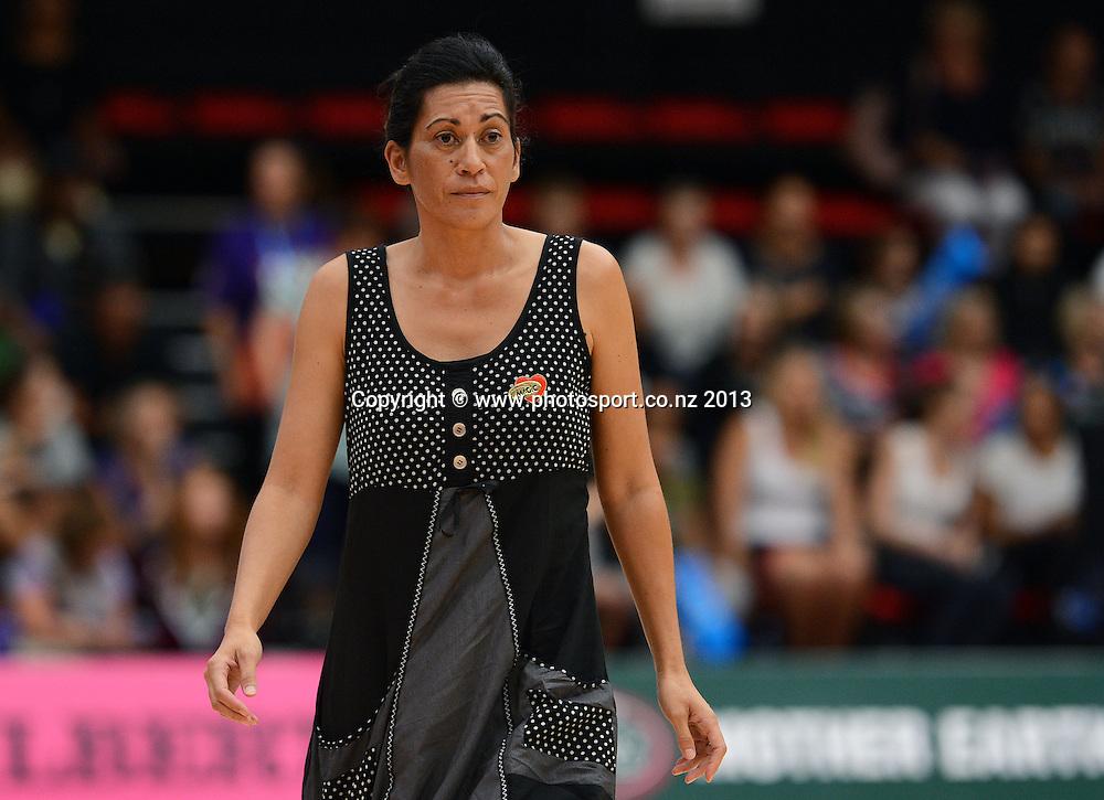 BOP Magic Coach Noeline Taurua. ANZ Netball Championship. KIA Waikato Bay of Plenty Magic v NSW Swifts, ASB Baypark Arena, Tauranga. New Zealand. Sunday 31 March 2013. Photo: Andrew Cornaga/Photosport.co.nz