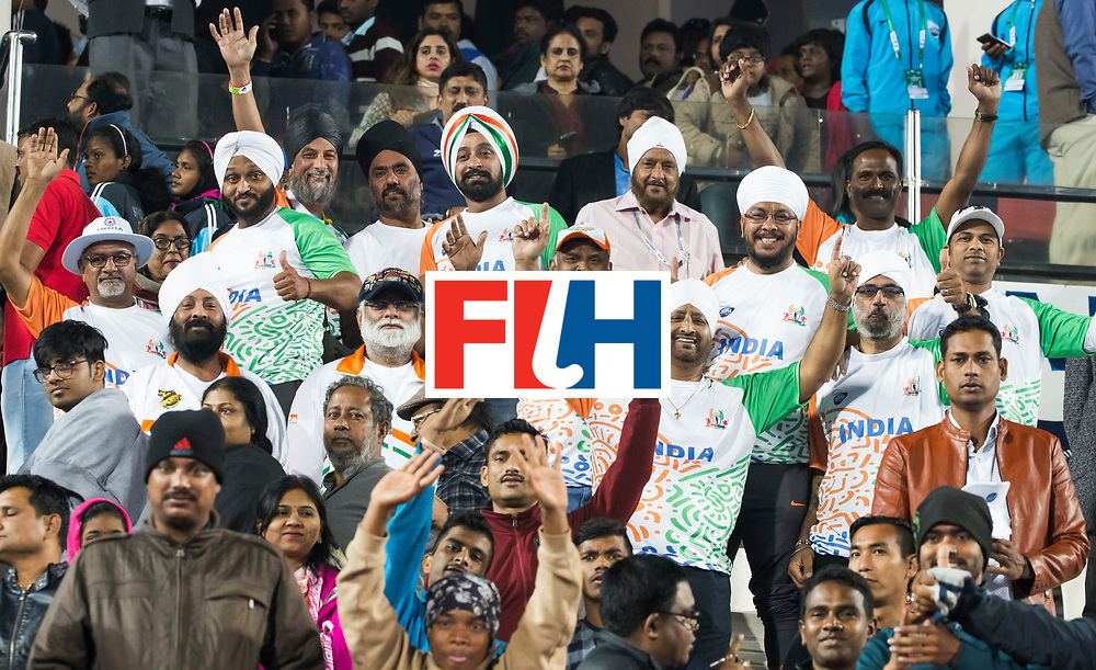 BHUBANESWAR - The Odisha Men's Hockey World League Final . Match ID 06 . India v England (2-3).  India supporters     WORLDSPORTPICS COPYRIGHT  KOEN SUYK