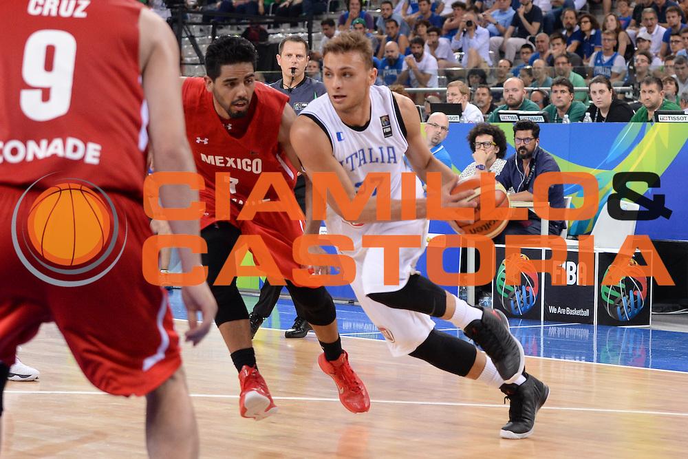 DESCRIZIONE: Torino FIBA Olympic Qualifying Tournament Semifinale Italia - Messico<br /> GIOCATORE: Stefano Tonut<br /> CATEGORIA: Nazionale Italiana Italia Maschile Senior<br /> GARA: FIBA Olympic Qualifying Tournament Semifinale Italia - Messico<br /> DATA: 08/07/2016<br /> AUTORE: Agenzia Ciamillo-Castoria