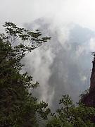 Tianzi Mountain is located in Zhangjiajie in the Hunan Province of China.