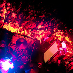 Baltimore, MD, November 2, 2010 - Pretty Lights plays to a packed Bourbon Street Ballroom, with Thunderball in support.