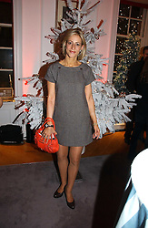 News reader EMILY MAITLIS  at Garrard's Winter Wonderland party held at their store 24 Albermarle Street, London W1 on 30th November 2006.<br />
