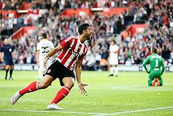 Goal, Graziano Pelle of Southampton scores, Southampton 1-0 Vitesse Arnhem <br /> - Mandatory by-line: Jason Brown/JMP - Mobile 07966386802 - 31/07/2015 - SPORT - FOOTBALL - Southampton, St Mary's Stadium - Southampton v Vitesse Arnhem - Europa League