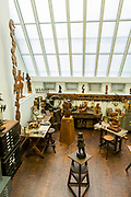 Chaim Gros's sculpture studio, preserved in the Renee and Chaim Gross Foundation in Greenwich Village.