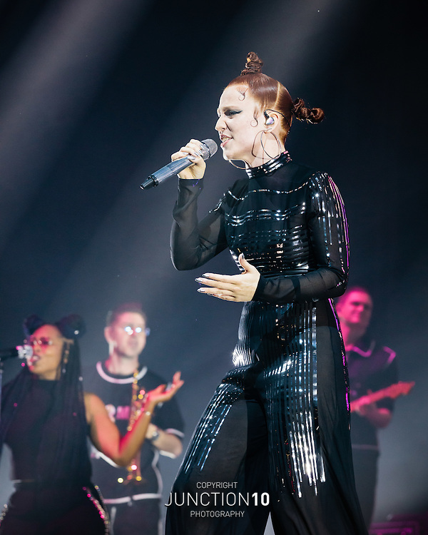 Jess Glynne in concert at the Genting Arena, Birmingham, United Kingdom<br /> Picture Date: 18 November, 2016