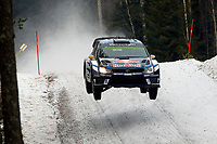 09Volkswagen Motorsport II, Mikkelsen Andreas, Jaeger Synnevag Anders, Volkswagen, Polo R Wrc, Action during the 2016 WRC World Rally Car Championship, Sweden rally from February  12 to 14, at Hagfors - Photo Bastien Baudin / DPPI