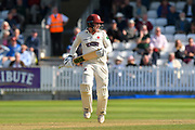 Dom Bess of Somerset during the Specsavers County Champ Div 1 match between Somerset County Cricket Club and Lancashire County Cricket Club at the Cooper Associates County Ground, Taunton, United Kingdom on 5 September 2018.