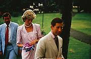 Prince Charles and Diana in Hawaii
