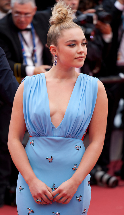 Florence Pugh at the La Belle Epoque gala screening at the 72nd Cannes Film Festival Monday 20th May 2019, Cannes, France. Photo credit: Doreen Kennedy