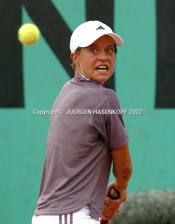 Martina Mueller (Ger),<br /> Tennis - French Open 2002 - Grand Slam ATP / WTA -  Roland Garros - Paris -  - France