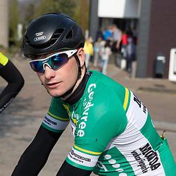 TWENTERAND (NED) wielrennen<br />Verkenning van een nieuw stuk parcours <br />Robin Lowik