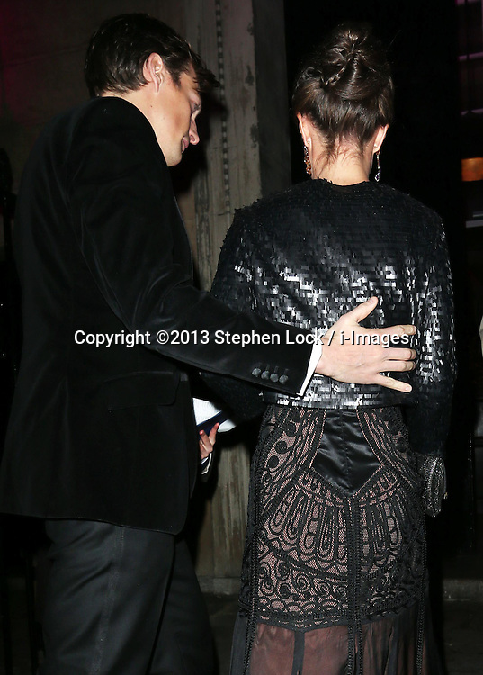 Nico Jackson and Pippa Middleton arriving at the Sugarplum Dinner charity event in London, Wednesday, 20th November 2013. Picture by Stephen Lock / i-Images