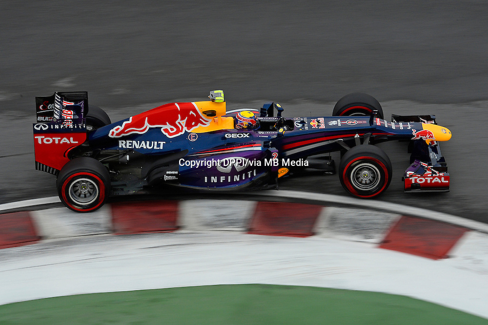 MOTORSPORT - F1 2013 - GRAND PRIX OF CANADA - MONTREAL (CAN) - 07 TO 09/06/2013 - PHOTO ERIC VARGIOLU / DPPI WEBBER MARK (AUS) - RED BULL RENAULT RB9 - ACTION
