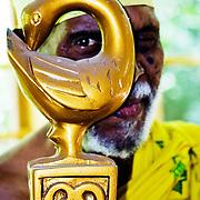 Kofi Ghanaba, The Divine Drummer. Accra, Ghana