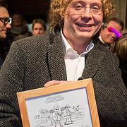 NLD/Amsterdam/20140307 - Boekenbal 2014, Jean-Marc van Tol