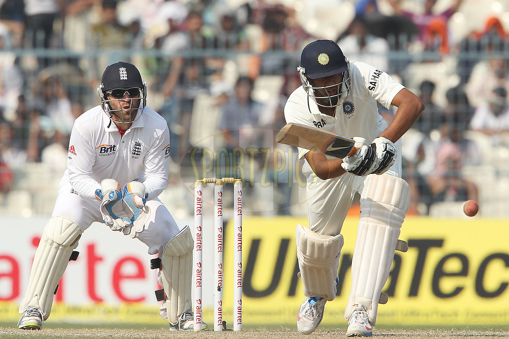 Ravichandran Ashwin of India during day four of the 3rd Airtel Test Match between India and England held at Eden Gardens in Kolkata on the 8th December 2012..Photo by Ron Gaunt/BCCI/SPORTZPICS ..Use of this image is subject to the terms and conditions as outlined by the BCCI. These terms can be found by following this link:..http://www.sportzpics.co.za/image/I0000SoRagM2cIEc
