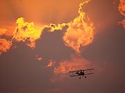 Americana.<br /> <br /> Biplane, Waynesville, Ohio.