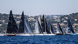 June 12, 2017 - St. Tropez, Fransa - France - St Tropez Giraglia Rolex Cup racing. (Credit Image: © Emre Tazegul/Depo Photos via ZUMA Wire)