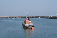 Irish lifeboat, Dun Laoghaire Harbour, County Dublin, Ireland