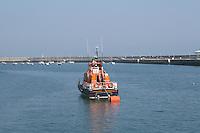 Irish lifeboat, Dun Laoghaire Harbour, County Dublin, Ireland