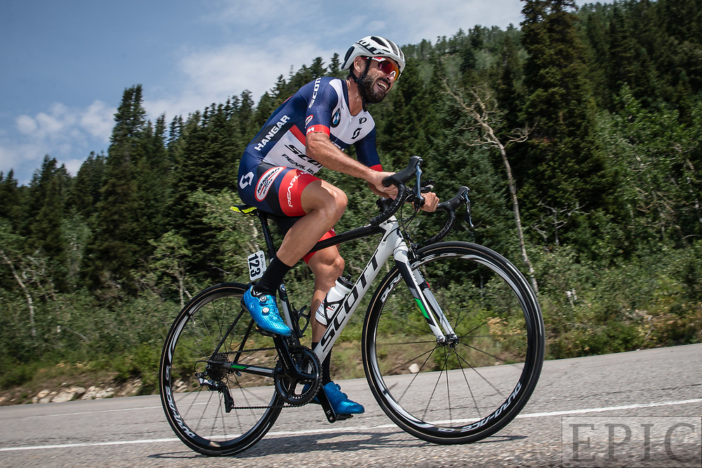 Cycling: Larry H. Miller Tour of Utah 2017 / Stage 3 - Francesco Mancebo (Hangar 15)<br /> <br /> Big Cottonwood Canyon (9km) / TOU / ITT / Individual Time Trial / Utah  <br /> &copy; Jonathan Devich