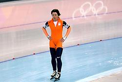 15-02-2006 SCHAATSEN: OLYMPISCHE WINTERSPELEN: TORINO ITALIE<br /> Team achtervolging / Monique Kleinsman <br /> ©2006-WWW.FOTOHOOGENDOORN.NL