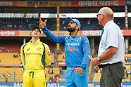 Cricket - India v Australia 4th ODI at Bangalore