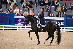 Isachkina Regina, RUS, Sun of May Life<br /> LONGINES FEI World Cup™ Finals Gothenburg 2019<br /> © Dirk Caremans<br /> 05/04/2019