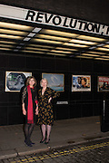 MAUREEN MURRAY; MARGY KINMONTH, Party afterwards at the Royal Academy, Premiere of Revolution, New Art For a New World ,  Curzon cinema , London. 10 Nov 2016