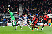Ben Foster (1) of West Bromwich Albion makes a save during the Premier League match between Bournemouth and West Bromwich Albion at the Vitality Stadium, Bournemouth, England on 17 March 2018. Picture by Graham Hunt.