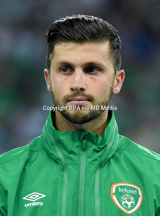 Uefa - World Cup Fifa Russia 2018 Qualifier / <br /> Republic of Ireland National Team - Preview Set - <br /> Shane Long
