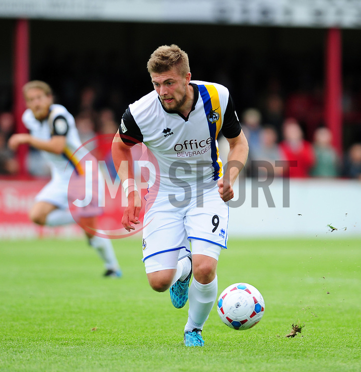 Bristol Rovers Ryan Brunt - Photo mandatory by-line: Neil Brookman - Mobile: 07966 386802 16/08/2014 - SPORT - FOOTBALL - Altrincham - J. Davidson Stadium - Altrincham v Bristol Rovers - Vanarama Conference Football