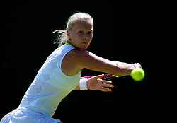 LONDON, ENGLAND - Tuesday, June 26, 2012: Kiki Bertens (NED) during the Ladies' Singles 1st Round match on day two of the Wimbledon Lawn Tennis Championships at the All England Lawn Tennis and Croquet Club. (Pic by David Rawcliffe/Propaganda)