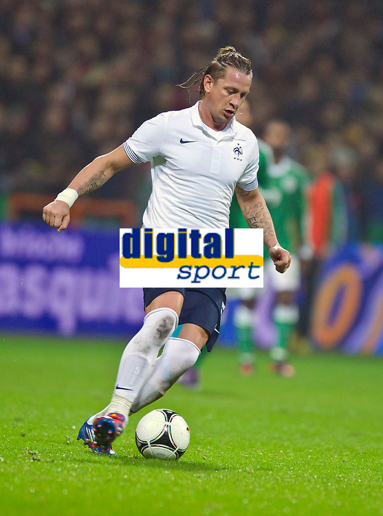 FOOTBALL - FRIENDLY GAME 2011/2012 - GERMANY v FRANCE  - 29/02/2012 - PHOTO DPPI - PHILIPPE MEXES (FRA)