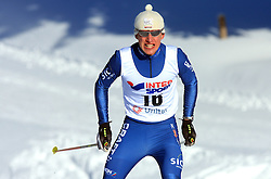 German cross-country skier Jonas Dobler at 10th OPA - Continental Cup 2008-2009, on January 17, 2009, in Rogla, Slovenia.  (Photo by Vid Ponikvar / Sportida)