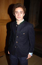 LORD DOWNPATRICK grandson of HRH The Duke of Kent at the Depal Trust 2in1 Art Party at The National Portrait Gallery, London on 25th October 2004.<br />
