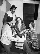 "30/4/1955<br /> 4/30/1955<br /> 30 April 1955<br /> Abbey Theatre scenes from ""An Posadh"" (The Marriage) by Douglas Hyde, at Queens theatre, Pearse Street, Dublin. Gaelic Play for Paris."