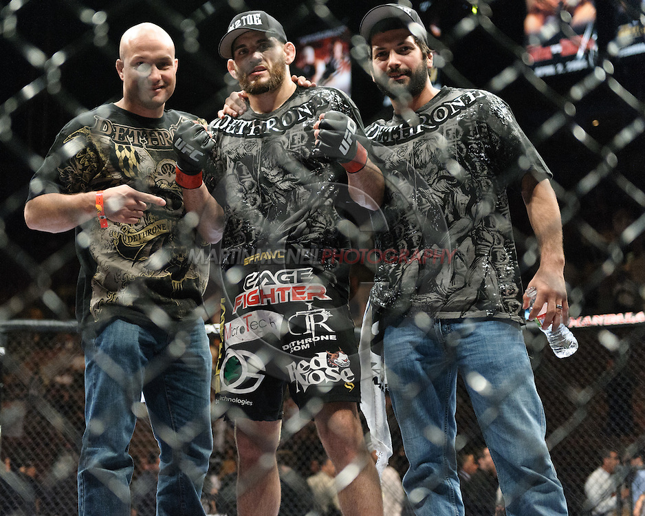 """LAS VEGAS, NEVADA. JULY 11, 2009:  during """"UFC 100: Making History"""" inside the Mandalay Bay Events Center in Las Vegas, Nevada."""