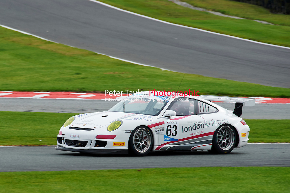 #63 Mark SMITH Porsche 997 GT3 Cup during GT Cup - Race 1 as part of the MSVR Oulton Park 10th October 2015 at Oulton Park, Little Budworth, Cheshire, United Kingdom. October 10 2015. World Copyright Taylor/PSP. Copy of publication required for printed pictures.  Every used picture is fee-liable. http://archive.petertaylor-photographic.co.uk